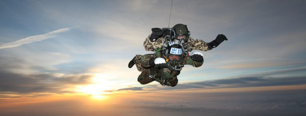 Skydive High HALO at Sunset