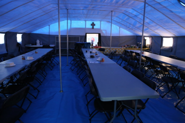 Ice Camp Barneo, Dining Room
