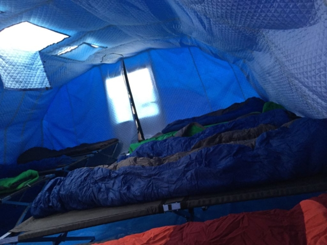 Ice Camp Barneo, Sleeping Quarters