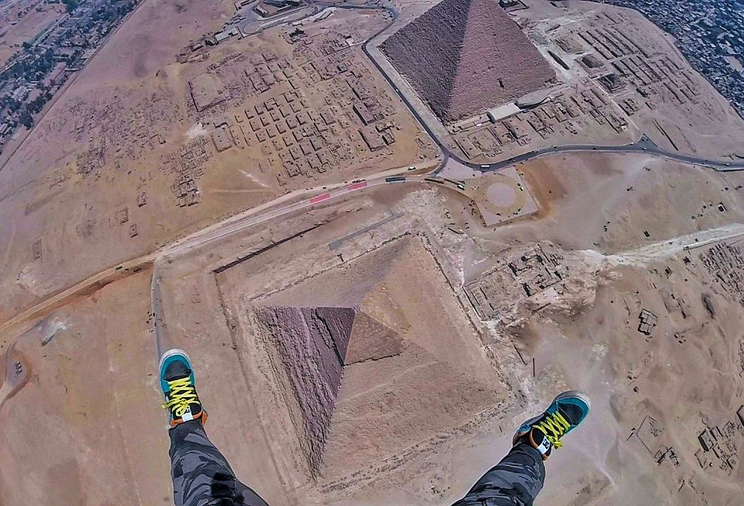 Skydive over the Great Giza Pyramid in Egypt with Incredible Adventures