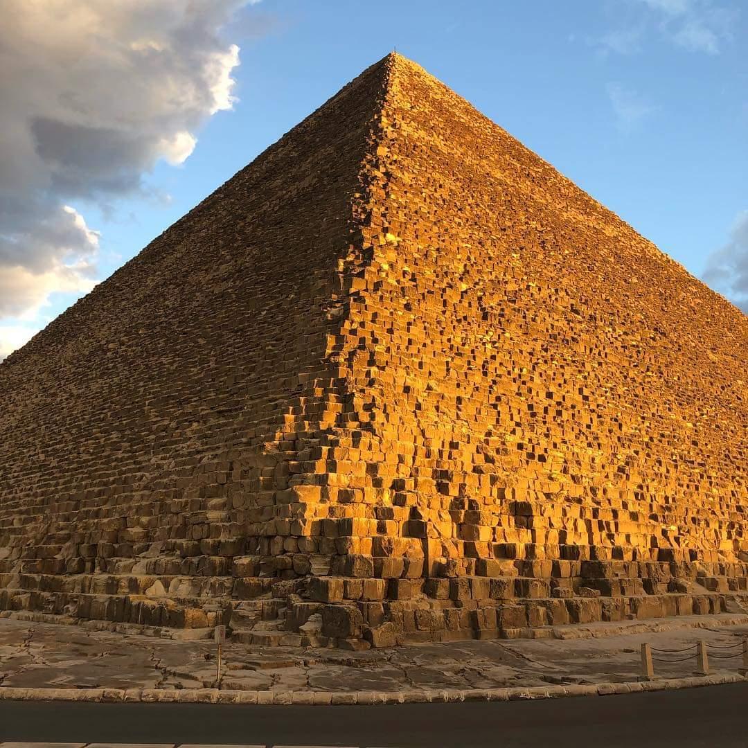 The Great Pyramid at Giza, Egypt
