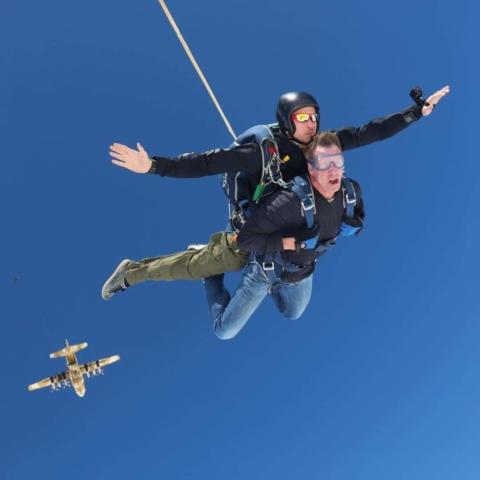 Skydive Egypt: John and Ryan