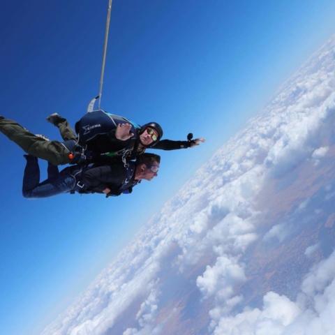 John and Ryan Skydive Egypt