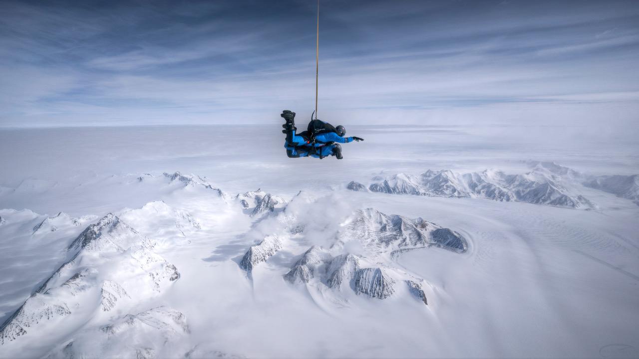 Skydive Antarctica