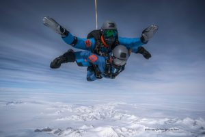 Skydive Antarctica photo Paul-Henry de Baere
